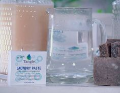 Our Laundry Paste is so small and compact yet it dilutes to make one gallon of liquid laundry soap!  Perfect for camping travelling tiny house living arthritic hands diy-ers ...and I bet you can think of another great place to use refillable Laundry Paste. . #ilovetangie #refillableproducts #stopsingleuseplastic #cleanoceanscleanfuture #stopthrowingoutbottles #refill #reducingabillionbottles #compostablepackaging