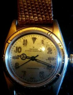 Vintage-mens-Rolex-bubble-back-14k-rose-gold-with-California-dial-1934-1935