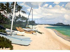 Custom - Lanikai Fleet by Brenda Cablayan