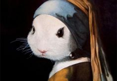 """""""girl"""" with a pearl earring"""