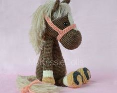 Shop our best value Crochet Toys Patterns on AliExpress. Check out more Crochet Toys Patterns items in Mother & Kids, Toys & Hobbies, Home & Garden! And don't miss out on limited deals on Crochet Toys Patterns! Crochet Horse, Crochet Animal Amigurumi, Crochet Animals, Crochet Patterns Amigurumi, Crochet Dolls, Knitting Patterns, Crochet Crafts, Crochet Projects, Free Crochet