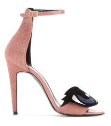 Pierre Hardy - Calf hair, leather and suede sandals - mytheresa.com GmbH