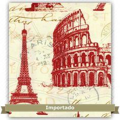 Tecido Estampado para Patchwork - 304123 Maison Designs Cor 1336  100% Algodão - 1,40m de largura Fabricante:  Maison Designs