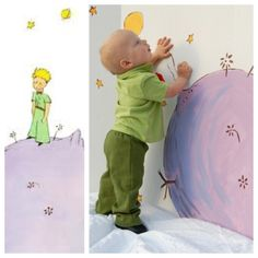 "The Little Prince birthday party. ""Le Petit Prince"""