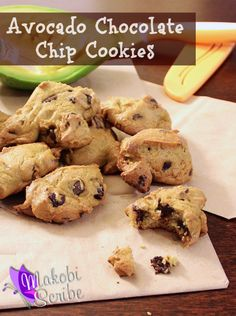 Avocado Chocolate Chip Cookies Recipe