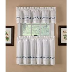 floral print on white background valance - Google Search