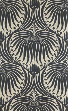 Farrow & ball lotus wallpaper in 2019 wallpaper дизайн ткани Wallpaper Art Deco, Lotus Wallpaper, Paper Wallpaper, Hallway Wallpaper, Wallpaper Direct, White Wallpaper, Designer Wallpaper, Iphone Wallpaper, Motifs Art Nouveau