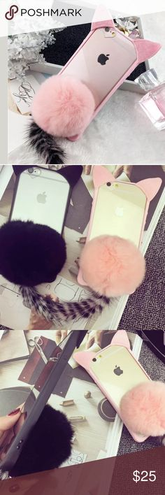 Cute Cat Phone Case Brand New Boutique Quality Absolutely Stunning Only one Available. IPhone 7 Accessories Phone Cases