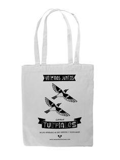 Bolsa con mensaje Volemos juntos como Turpiales Por una Venezuela de paz, amor y armonía