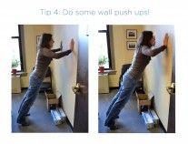 flexiones en pared
