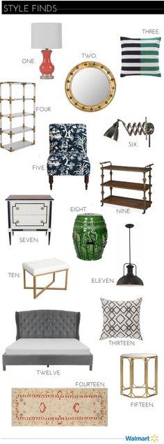 15 Fab Home Finds at Walmart.com - Emily A. Clark