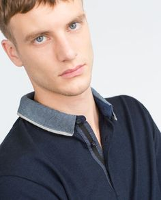 Image 4 of OXFORD POLO SHIRT from Zara                                                                                                                                                                                 More