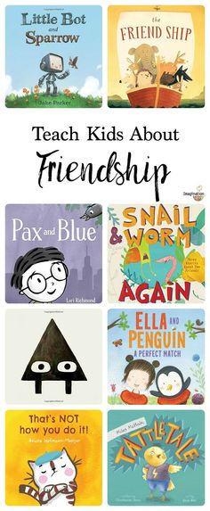 That Help Children Learn About Friendship picture books that help teach kids about friendship Help Teaching, Teaching Reading, Preschool Books, Montessori Books, Social Emotional Learning, Social Skills, Emotional Books, Mentor Texts, Character Education