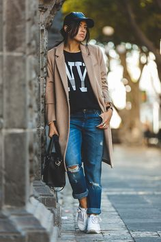 85 Fashion-Forward Ways to Style Your Sneakers ThisSpring | StyleCaster