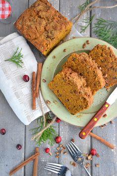 Gluten-Free Coconut Cinnamon Sweet Potato Loaf #glutenfree