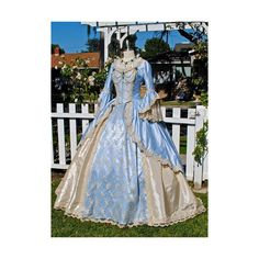 Champagne Sparkle 2 Tone Marie Antoinette Fantasy Costume Upscale Gown... (€870) ❤ liked on Polyvore featuring costumes, marie antoinette costume and marie antoinette halloween costume