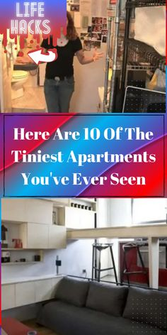 Many people dream of having a bigger home. You'll even hear people complain about their tiny New York City apartments that are costing them a fortune. #Diy #Hacks #LIFEHACKS #CRAFTS #HOWTO #TOURS #UPCYCLING