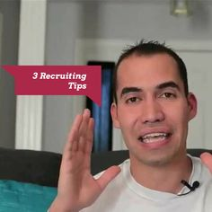 This post shares 3 powerful Network Marketing recruiting tips from a MASTER recruiter. Cesar Rodriguez is one of the masters in network marketing recruiting