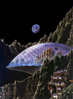 Tim White cover art for Assignment in Eternity, volume 1, by Robert A. Heinlein, 1977