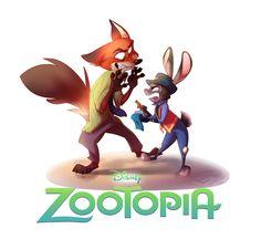 Zootopia :: Fanart :: by 7-Days-Luck.deviantart.com on @DeviantArt #cartoon #disney #zootopia