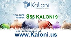 Suffering from hair loss? Treat yourself this Christmas by gifting your head with hair!  Call Kaloni at:855 KALONI 9 (855 5256649) For more information go to: www.kaloni.us #hairloss #hair #kaloni #hairrestoration #Christmas