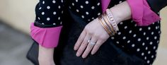 Love our bangles on Tiff