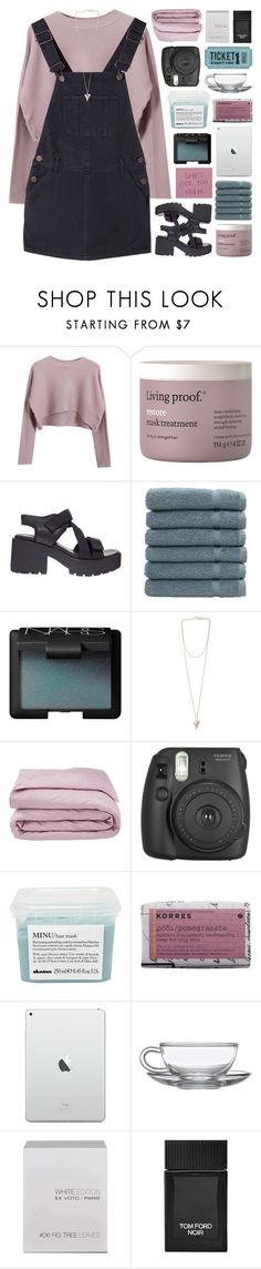"""GOLDEN AGE"" by emmas-fashion-diary ❤ liked on Polyvore featuring Chicnova Fashion, Living Proof, Vagabond, Linum Home Textiles, NARS Cosmetics, Givenchy, Frette, Fujifilm, Davines and Korres"