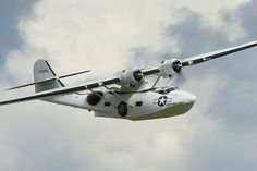 Consolidated Catalina flying boat.