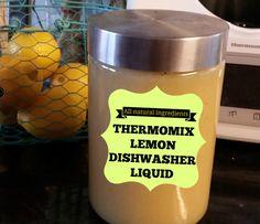 lemon dishwasher liquid