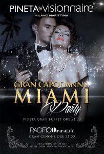 Capodanno 2015 @ Pineta Milano Marittima in stile Miami http://www.nottiromagnole.it/?p=13944