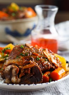 Slow Cooker Osso Buco - Table for Two® by Julie Wampler Slow cooker osso buco is unbelievably tender and full of flavor. There is nothing intimidating about making this restaurant favorite at home!