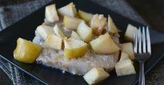 Instant Pot Apple Bourbon Pork Chops