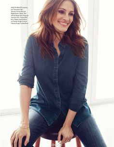 """Julia looks more radiant and beautiful then ever in images inside the latest issue of """"Elle"""" France, photographed by Alexi Lubomirski. Enjoy the pictures here:"""