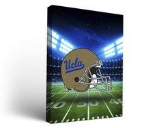 UCLA Bruins Football Stadium Canvas Art Rectangle