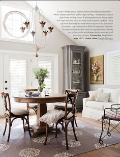 bentwood chairs and fireplace | = black & white | pinterest