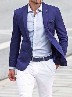 Digging the blazer. Perfect for summer.