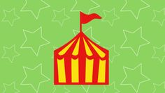 Free SVG File 156 – Circus Tent