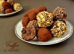 Recette des truffes en chocolat à préparer pour Noël ! Fondantes et gourmandes à souhait.