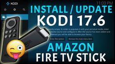 INSTALL LATEST KODI 17.6 ON THE AMAZON FIRESTICK EASY SETUP GUIDE STEP B...