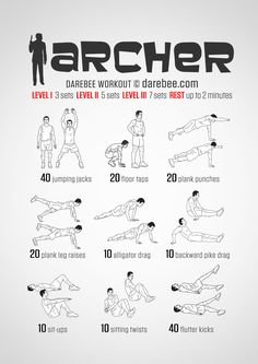 Instructions : Repeat each move with no rest in between until the set is done, rest up to 2 minutes and repeat the whole set again 3, 5 or 7 times depending on your fitness level. Tip: alligator drag and backward pike drag can be done as a combo -...