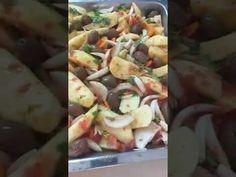 Πατάτες κοκκινιστές στο φούρνο με ελιές και κρεμμύδια από τον Πατέρα Παρθένιο - YouTube Potato Salad, Potatoes, Ethnic Recipes, Youtube, Food, Potato, Essen, Meals, Youtubers