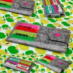 Lillesol und Pelle :Tutorial für eine Handytasche Sewing Tutorials, Free Tutorials, Sewing Ideas, E Reader, Sewing To Sell, Couture, Cool Patterns, Small Bags, Diy Tutorial