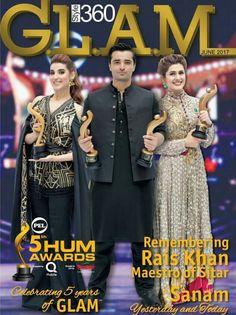 We be Looking Like Charlie's Angeles Rocking Them Award on the Cover of Magazine GLAM Official! #HareemFarooq #HumzaAliAbbasi #KubraKhan #5thHumAwards17 #GLAM #GLAMOFFICIAL #PakistaniActresses #PakistaniCelebrities  ✨