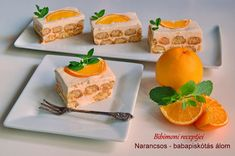 Narancsos - babapiskótás álom | Bibimoni Receptjei Ale, Cheese, Recipes, Food, Ale Beer, Recipies, Essen, Meals, Ripped Recipes