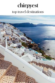 What places are on your travel bucket list? See ours when you read our top travel destinations blog post! Dream Vacations, Vacation Trips, Vacation Spots, Santorini Grecia, Mykonos Greece, Crete Greece, Santorini Travel, Athens Greece, Travel Wallpaper
