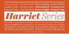 Harriet Series - Serif Font Family by Okay Type