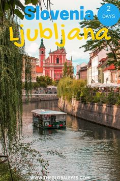 The Slovenian capital really is the perfect weekend destination! Find out the best things to do in Ljubljana if all you have are 2 awesome days there. Photo Background Images, Photo Backgrounds, Places Around The World, Around The Worlds, Les Balkans, Slovenia Ljubljana, Stuff To Do, Things To Do, Slovenia Travel