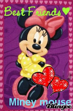 MINNIE MOUSE, BEST FRIENDS GIF
