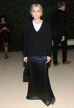 Actress Ashley Olsen attends CFDA and Vogue 2013 Fashion Fund Finalists Celebration