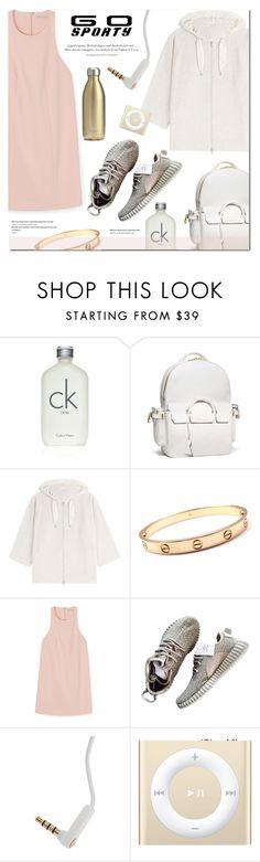 """""""Sporty Chic!"""" by stellaasteria ❤ liked on Polyvore featuring Calvin Klein, BUSCEMI, Brunello Cucinelli, Cartier, Rebecca Minkoff, Frends and S'well"""